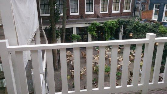 Hotel Schimmelpenninck Huys: Sfeervolle binnenplaats