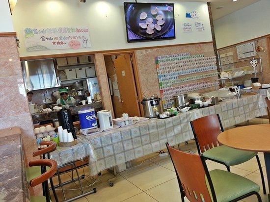 Toyoko Inn Fujisan Numazu Kitaguchi 2: Breakfast set-up in the morning by the wonderful staff