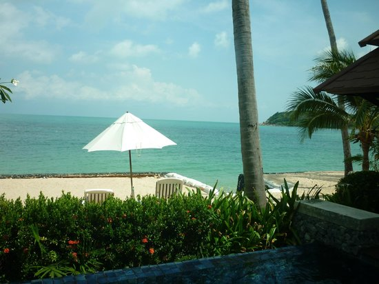 Nora Beach Resort and Spa : View from beachfront villa
