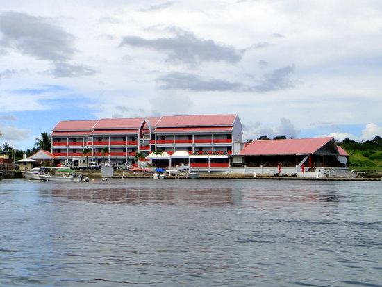 Landmark Marina from the lagoon