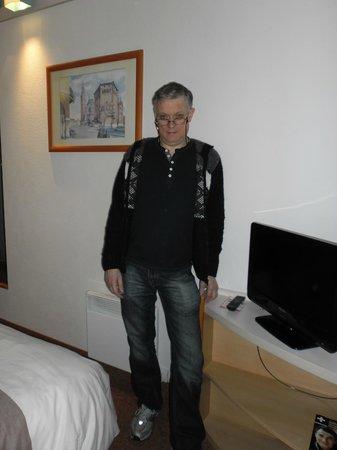 Ibis Budget Honfleur: Vanilla hotel room
