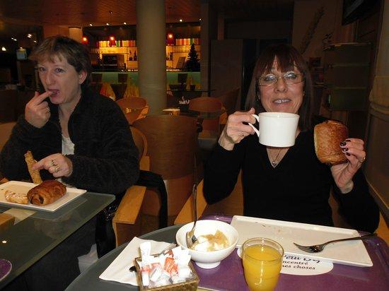 Ibis Budget Honfleur: Breakfast