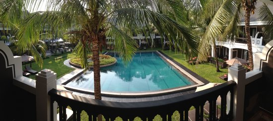 Shinta Mani Angkor: View from 1st floor at Resort building