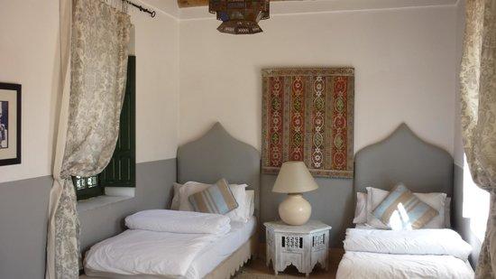 Villa Maroc : Chambre au charme marocain