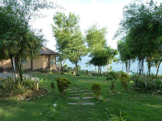 Bohol Lahoy Dive Resort: Blick vom Restaurant