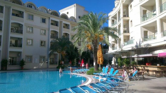 Cosmopolitan Resort Hotel: Hotellet från insidan.