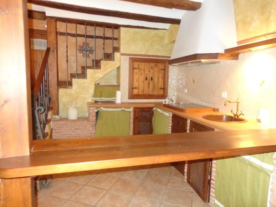 Casa Rural La Carreteria: COCINA