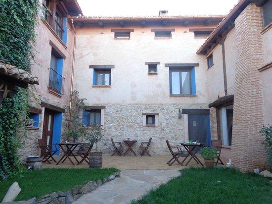 Casa Rural La Carreteria: PATIO