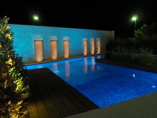 Aqua Blu Boutique Hotel + Spa: View from our room with private pool