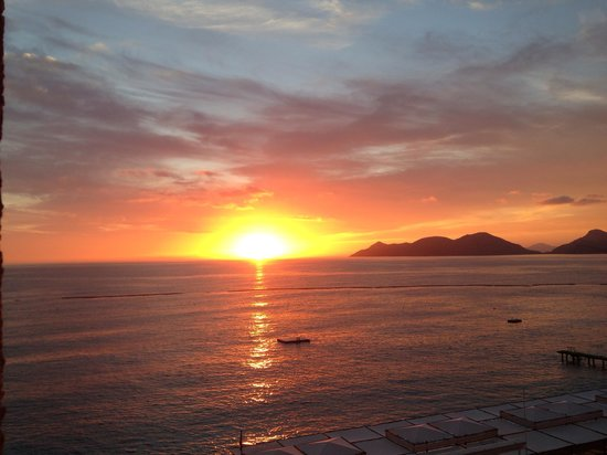 Liberty Hotels Lykia: Amazing sunsets from our room balcony