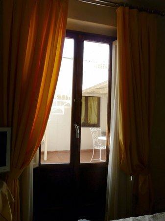Serristori Palace: Дверь на террасу