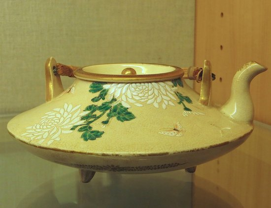 Pacific Asia Museum : Japanese Tea-pot
