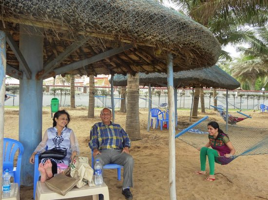 Ideal Beach Resort Covered Pvt Sheds At D