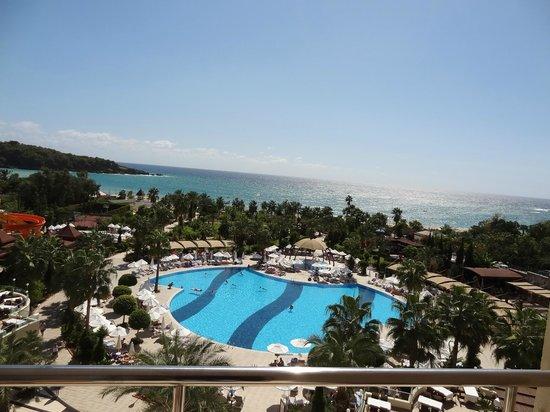 Saphir Resort & Spa: Blick von Zimmer 331