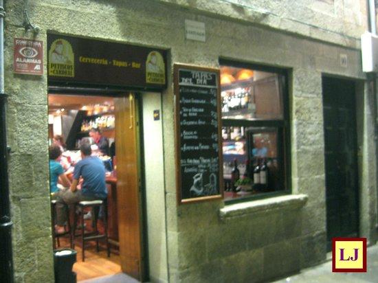Restaurante petiscos do cardeal en santiago de compostela - Cocinas en santiago de compostela ...