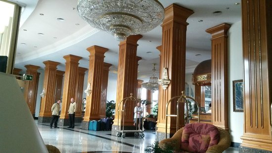 Hotel Riu Palace Meloneras Resort: Reception