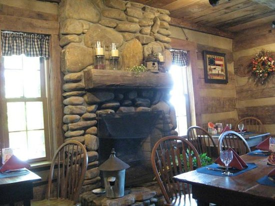 The Morgan House: Fireplace