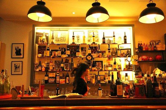 Cafe Riso Amaro: The bar