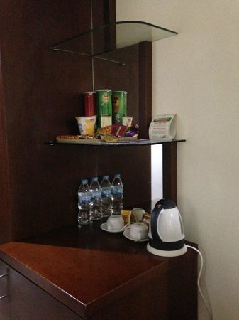 Nagoya Plaza Hotel: mini bar