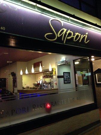 Sapori: Front of Sapiro