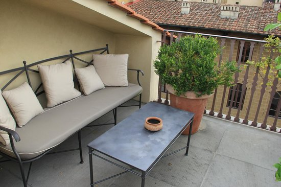 Palazzo Vecchietti Suites and Studios : Private terrace