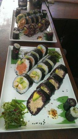 Grass Ninja Sushi Rolls