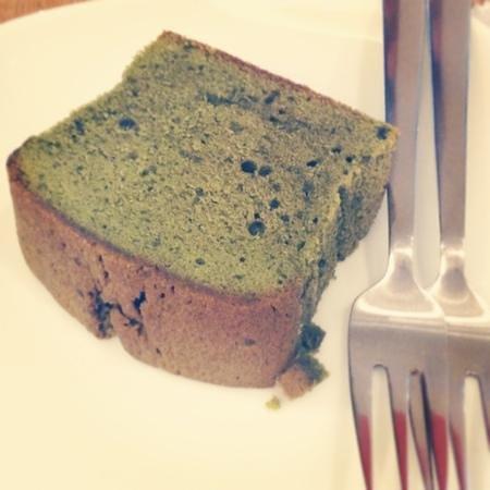 Ogawa Coffee : matcha cake