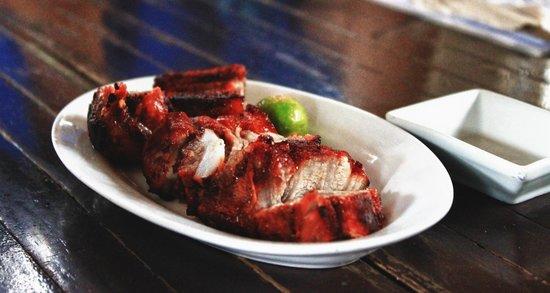 Lolo Nonoy's Food station: Pork Liempo - P100