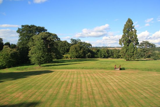Harptree Court : View from Yellow Room