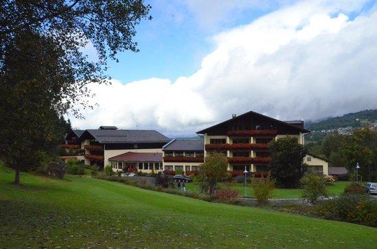 Hotel Riederin: Blick auf das Hotel