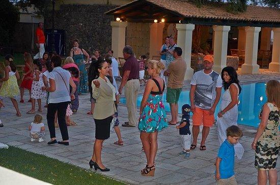 Grecotel Corfu Imperial: После ужина перед концертом