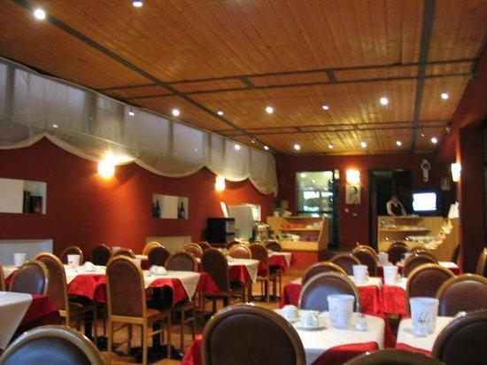 Hotel Porta Palio: 식당(조식 뷔페)