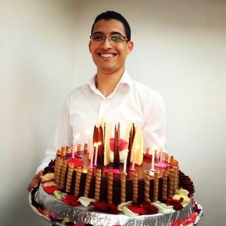 El Morocco Club: gâteau anniversaire