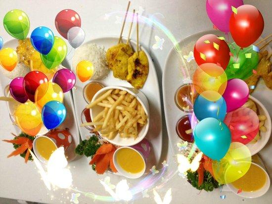 Siam Kitchen: Kids menu