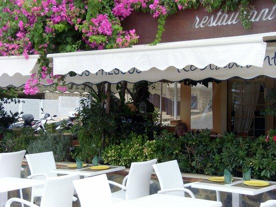 Restaurant Ses Oliveres: la terrasse