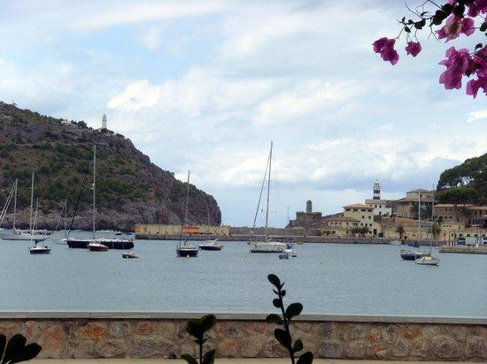 Restaurant Ses Oliveres: Vue depuis la terrasse