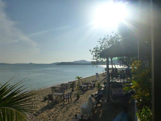 Lawana Resort : view we had when eating breakfast
