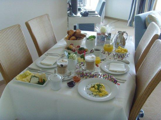 Strandhotel Dünenmeer: Frühstück auf dem Zimmer - empfehlenswert