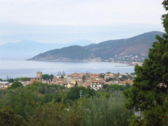 Hotel Hermitage Castellabate: View from Hermitage