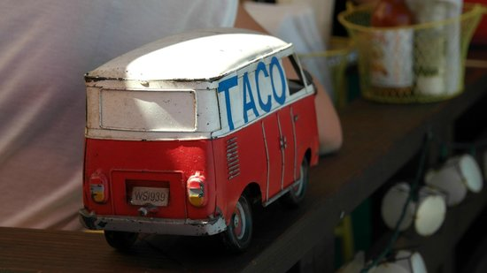 Salsalito Taco Shop: lovely decoration