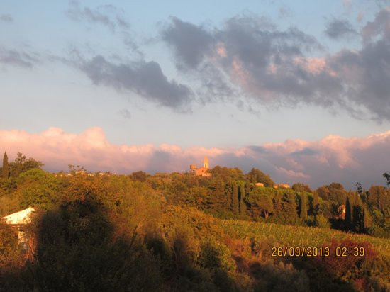 Podere Vigliano: view from the window