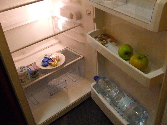 Austria Suites: inhoud koelkast, brood beleg