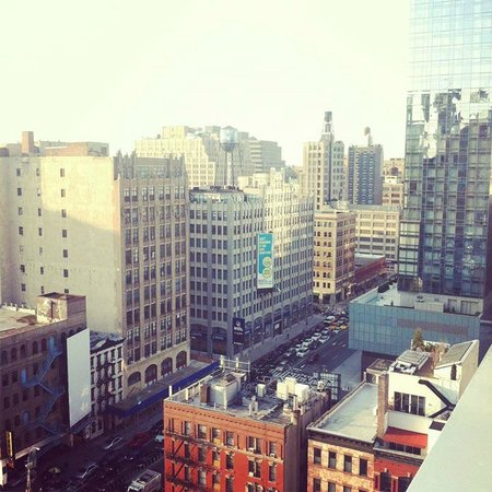 Hampton Inn Manhattan-SoHo: View from the rooftop of hotel