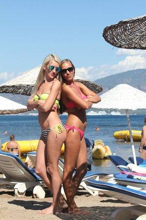 Mersoy Exclusive Aqua Resort: Пляж