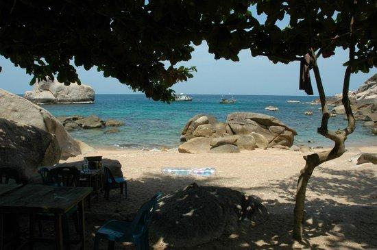 Ao Tanot Bay: Ao Tamote beach, small but pretty!