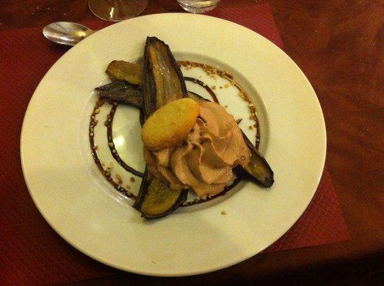 Banane Cuite Et Mousse De Nutella Fotograf A De La Table Ruthenoise Rodez Tripadvisor