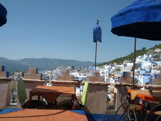 Plan-It Fez: Rooftop view at Chefchaouen