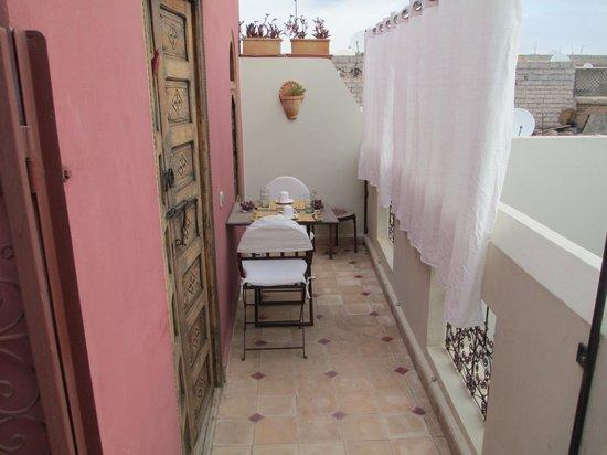 Riad La Cigale: colazione romantica