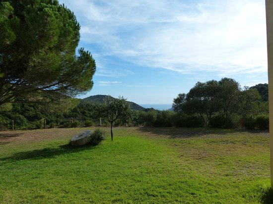 Auberge Coralli : vue sur la baie de Roccapina