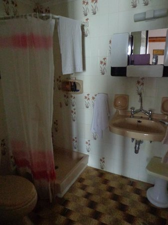 Alkion Hotel: Bathroom